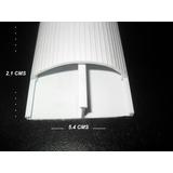 Canaleta De 1/2 Caña Pvc Para Piso Ducto Utp Coaxial Thw Vmj
