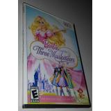 Juego Para Wii Barbie Y Las Tres Mosqueteras