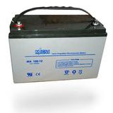 Batería 12 Voltios 100 Amp/h Estacionaria Recargable Agm