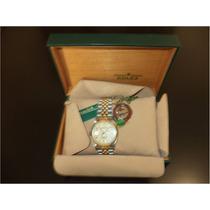 Rolex Oyster Perpetual Datejust 18 Ks Oro-acero