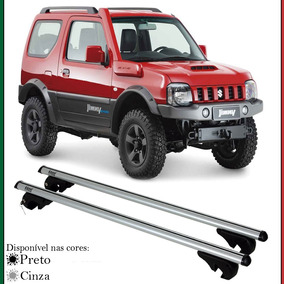Rack De Teto Par Travessa Para Longarinas Chave Suzuki Jimny