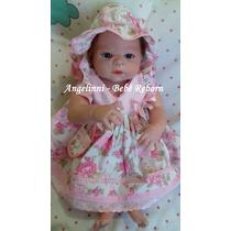 Bebê Reborn Milena Silicone - Pronta Entrega! Molde Victória
