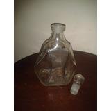 Botellas Antiguas Vintage De Vidrio Con Tapon
