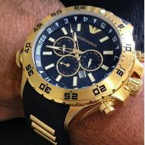 Relógio-masculino-empório-armani-ap0690+frete-gratís+brinde!