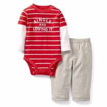 Carters Conjunto Frio, Pañalero Ml, Pantalon, Niño, 24 Meses