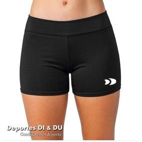 Mini Short De Licra Colombiana Gruesa Para Dama Dry-fit