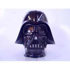 Darth Vader Capacete Star Wars Helmet Cosplay 30cm De Altura