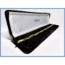 Pulsera Oro Amarillo Solido 14k Mod. Cartier De 6mm 11grs