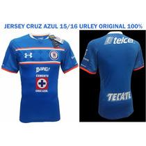 Jersey Y Short Cruz Azul Original 100% 15/16 Under Armour