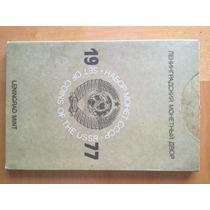 Rus-s09 Set 9 Monedas Rusia Urss 1977 Unc-bu Prooflike Ayff