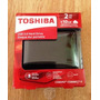 Disco Duro Externo Toshiba 2tb Canvio Connet Ii + 10gb Free