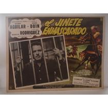 Antonio Aguilar, El Jinete Enmascarado , Cartel De Cine