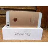Iphone 5s Dourado Com Película De Vidro