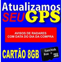 Atualização Gps Igo Cartão 8gb Foston Aquarius Bak Fr Grátis
