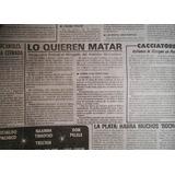 John Lennon Nota Asesinato Diario Cronica 8 De Enero 1981