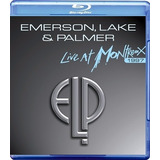 Blu - Ray - Emerson, Lake & Palmer - Live At Montreux