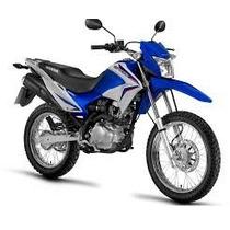 Kit Carenagem Nxr150 Bros 2014 Azul + Adesivo- Jc Moto Peças