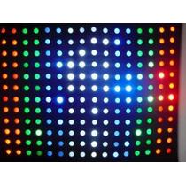 Cortina Lampada Led Rgbw Sensor De Som 5,00 X3,00 Painel Djs