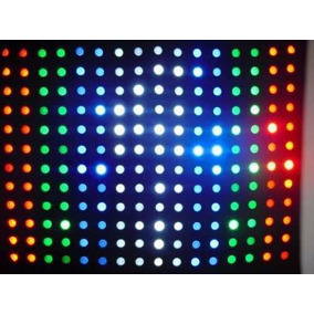 Cortina Lampada Led Rgbw Sensor Som 3,00 X 2,55 Painel Show