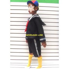 Disfraz Kiko Del Chavo Del 8 Disfraces Niños Popis Ñoño