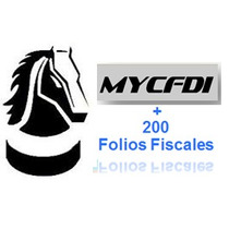 Facturación Electronica Cfdi My Business Pos2006+200 Folios