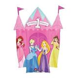 Globo Metalizado Un Año Princesas Cenicienta Rapunzel Bella