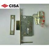 Cerradura, Cerrojo Cisa Seguridad Con Cilindro 35m Y 25mm