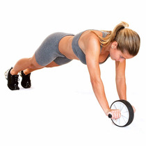 Roda Abdominal Top Acte Suporta Até 100 Kg Fitness, Pilates