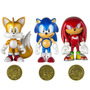 Boneco Sonic The Hedgehog 25th Anniversary Tomy Sega Moeda