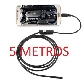 Sonda Usb Boroscópio 5 Metros Celular Android Frete Grátis