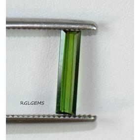 Turmalina Verde - Comprida -cod:bx12 -t.18x3.5x2.0mm