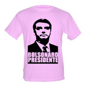Camiseta + Caneta Bolsonaro Presidente - Várias Cores.