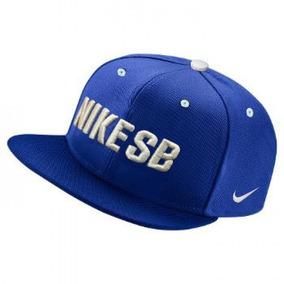 Bone Nike Sb Azul Royal Aba Reta Aba Quadrada Snapback