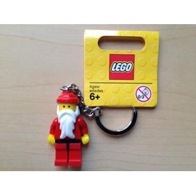 Llavero Lego Santa Claus Minifigura Navidad Ugo