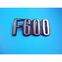 Emblema F-600 Ford Camioneta Camion Clasico