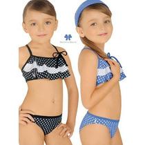 Bikini De Niña Marcela Koury Lunares Verano 2017