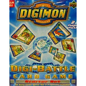Juego Digimon Digital Monsters Digi-batalla Tarjeta De Jueg