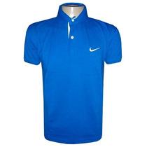 Kit 5 Camisa Camiseta Polo Nike Várias Cores Promoção!!