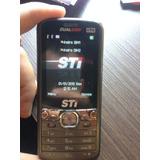 Placa Celular Semp Toshiba Sti Tv350 2chips. Envio Td.brasil