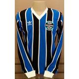 Camisa Retrô Grêmio 1983 M/longa- F R E T E . G R Á T I S !