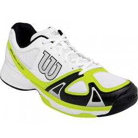 Zapatillas Wilson Rush Evo (bco C/amarillo) /tennisheroshop