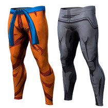 Licras Leggins Dragon Ball De Entrenamiento Gym