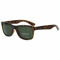 Óculos De Sol Polaroid 1015s V08/h8 Havana Polarizada