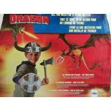 Batalha Viking Capacete Escudo Machadinha Dragon Frete Gt.