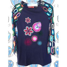 Vestido Desigual Importado 11/12 Anos Sem Defeito Original