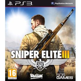 Sniper Elite Iii 3 Ps3 Psn Envio Digital Imediato