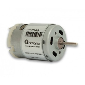 Micro Motor Dc 24v 21600rpm - Pronta Entrega