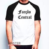 Camiseta Rapper Facção Central Rap Nacional Personalizada