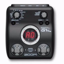 G1u Pedaleira Zoom G1 Usb Para Guitarra + Fonte G1u G1usb G1