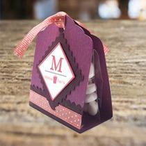 Caja Para Chocolate O Dulces - Recuerdo / Mesa De Dulces
